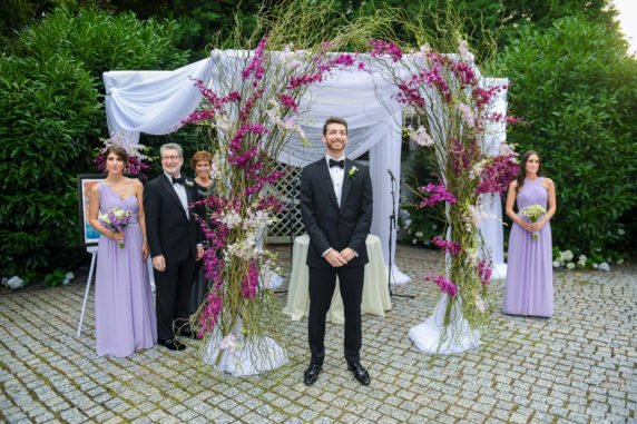 The Groom and the Chuppah