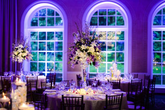 Tall White Flower Centerpieces